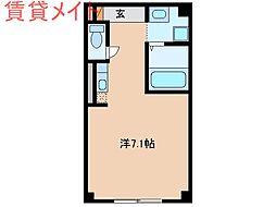 パークサイドベル[2階]の間取り