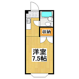 ロイヤルメゾン三浦[3階]の間取り