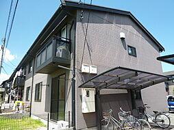 岡山県倉敷市連島中央4丁目の賃貸アパートの外観