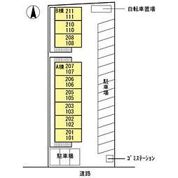 ワンズ18 B棟[110号室]の外観