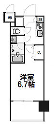 レジディア新大阪[505号室]の間取り