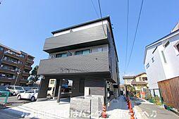 大阪府枚方市三矢町の賃貸アパートの外観
