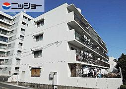 マンション緑黒石B棟[4階]の外観