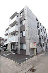 北海道札幌市豊平区月寒東二条8丁目の賃貸マンションの外観