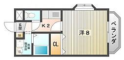 エナジーマンション[1階]の間取り