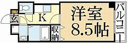 PINE館Ⅲ[1階]の間取り