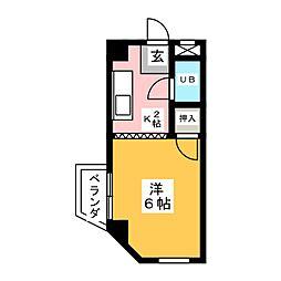 昌桂ビル2[4階]の間取り
