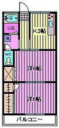 小川マンション[103号室]の間取り