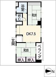 共栄ビル[5階]の間取り