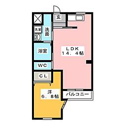 マイハウス コンカドール[2階]の間取り