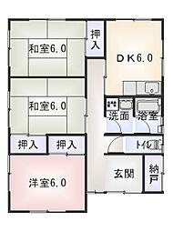[一戸建] 三重県松阪市川井町 の賃貸【三重県 / 松阪市】の間取り