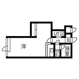 ハートピア45[9階]の間取り