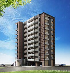 仮)中原東新築マンション[10階]の外観