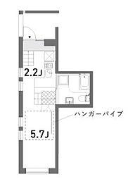 荘(カザリ)[202号室]の間取り