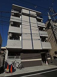 東京都荒川区東日暮里4丁目の賃貸マンションの外観