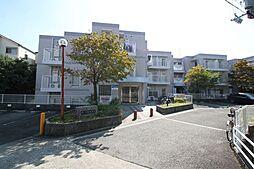 六龍苑岡町[1-B号室]の外観