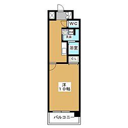 ザ・パーククロス栄[11階]の間取り