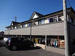 長野県上田市殿城の賃貸アパートの外観