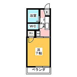 サンシャイン柱[2階]の間取り