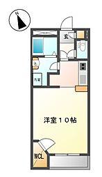 愛知県稲沢市祖父江町森上の賃貸アパートの間取り