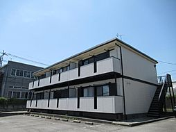 静岡県御殿場市板妻の賃貸アパートの外観