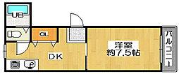 レジデンシア林[2階]の間取り