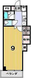 学生の家紫野[302号室]の間取り