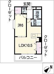 ルミナスT[1階]の間取り