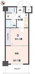リビングステージ東仙台[5階]の間取り