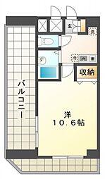 ガラ・ステージ国分寺[9階]の間取り