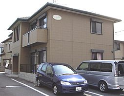 岡山県岡山市南区三浜町2丁目の賃貸アパートの外観