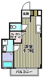 大阪府堺市中区小阪の賃貸アパートの間取り