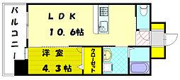 エスケイ-22[3階]の間取り