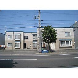 北海道札幌市手稲区富丘二条7丁目の賃貸アパートの外観