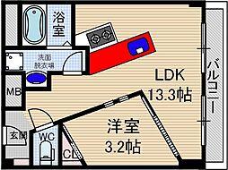 A-PART1[2階]の間取り