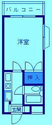 吉田ビル[3階]の間取り