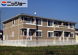 愛知県東海市加木屋町石塚の賃貸アパートの外観