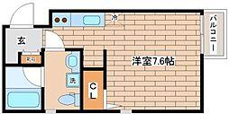 兵庫県神戸市須磨区須磨浦通4の賃貸マンションの間取り
