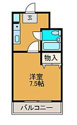 メゾンドA2[5階]の間取り