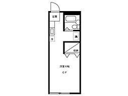 メゾン・ド・アキ[1階]の間取り