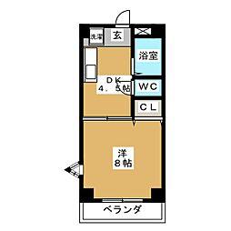 Comfort・City[4階]の間取り