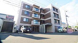 北海道札幌市西区西野二条9の賃貸マンションの外観