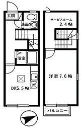 [テラスハウス] 兵庫県明石市新明町 の賃貸【/】の間取り