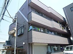 東京都北区上中里2丁目の賃貸マンションの外観