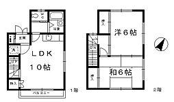 [テラスハウス] 神奈川県横浜市港北区新吉田町 の賃貸【/】の間取り
