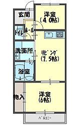 サバービア581[3階]の間取り