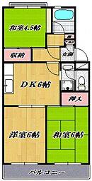 宮崎台レジデンス[303号室号室]の間取り