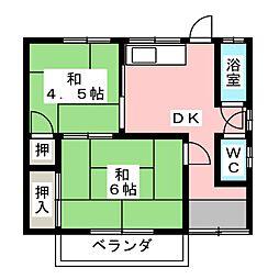 [一戸建] 愛知県北名古屋市熊之庄新宮 の賃貸【愛知県 / 北名古屋市】の間取り