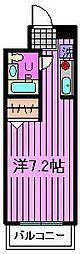 ローブル与野本町[3階]の間取り