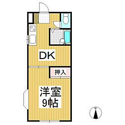 ルミネK 南棟[1階]の間取り